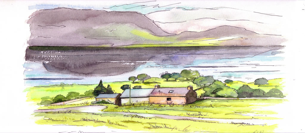 Midwest cottage Torridon Wester Ross